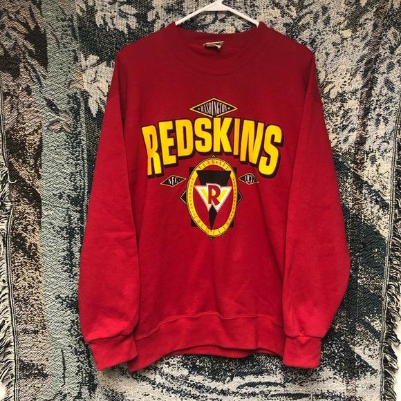 best loved 8dfed 6bc8a Vintage Washington Redskins Crewneck Sweatshirt